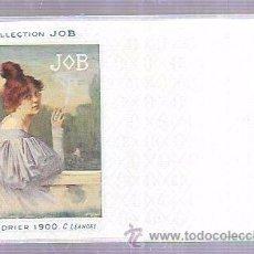 Postales: TARJETA POSTAL COLLECTION JOB. CALENDRIER 1896.. Lote 53951024