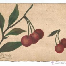 Postales: POSTAL DIBUJADA POR E. MESA .- 1927. Lote 54726570