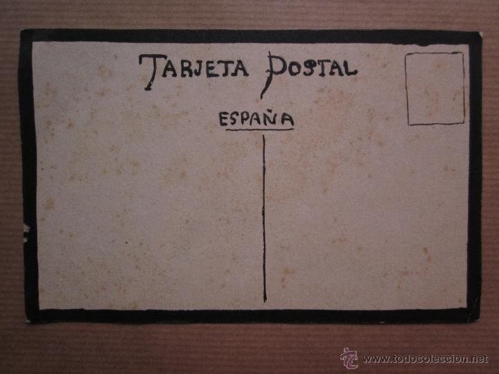 Postales: MUY RARA POSTAL DE TOROS ORIGINAL PINTADA A MANO POR ARTURO BALLESTER - Foto 5 - 54735520