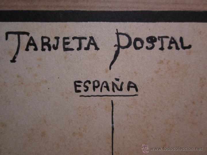 Postales: MUY RARA POSTAL DE TOROS ORIGINAL PINTADA A MANO POR ARTURO BALLESTER - Foto 6 - 54735520