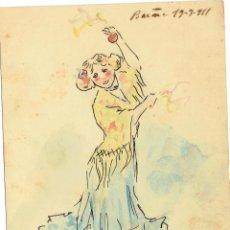 Postales: PS4925 POSTAL PINTADA A MANO. FIRMADA POR JOAQUIM XIPELL. 1911. Lote 45795735