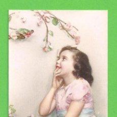 Postales: TARJETA POSTAL - PRECIOSA NIÑA - PROPIEDAD EDICIONES PABLO DÜMMATXEN - SIN CIRCULAR.. Lote 54887661