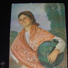 Postales: LOTE DE 6 POSTALES CON PINTURAS DE PERSONAJES TÍPICOS DE 1920 EDITADAS POR COLL SALIETI HNOS. BNA.. Lote 54988859