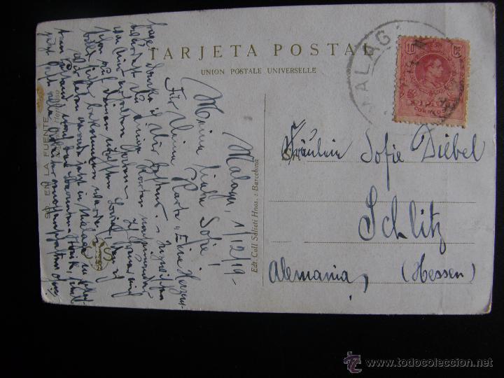 Postales: Lote de 6 postales con pinturas de personajes típicos de 1920 editadas por Coll Salieti Hnos. Bna. - Foto 2 - 54988859