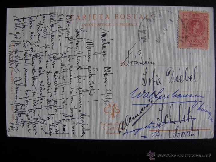 Postales: Lote de 6 postales con pinturas de personajes típicos de 1920 editadas por Coll Salieti Hnos. Bna. - Foto 4 - 54988859