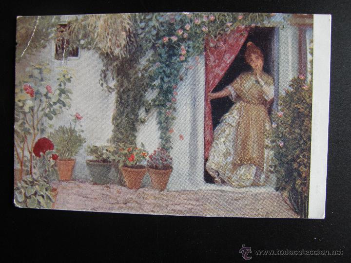 Postales: Lote de 6 postales con pinturas de personajes típicos de 1920 editadas por Coll Salieti Hnos. Bna. - Foto 6 - 54988859