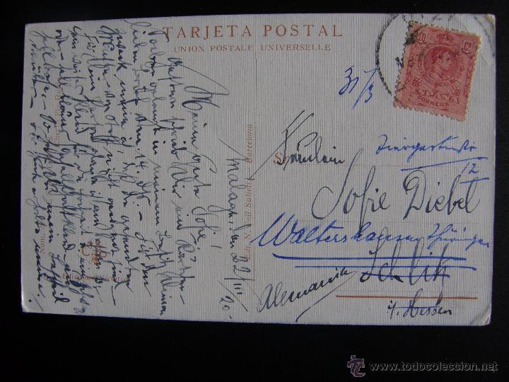 Postales: Lote de 6 postales con pinturas de personajes típicos de 1920 editadas por Coll Salieti Hnos. Bna. - Foto 8 - 54988859