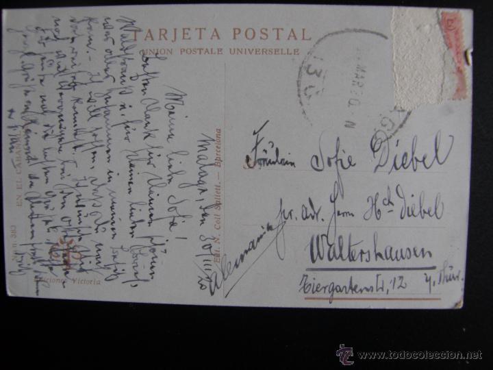 Postales: Lote de 6 postales con pinturas de personajes típicos de 1920 editadas por Coll Salieti Hnos. Bna. - Foto 12 - 54988859
