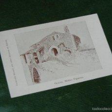 Postales: POSTAL COLECCION BRUNET LIBRO GUALBA DE VERGES - MOLINO FIGUERAS - HACIA 1910. Lote 55366152