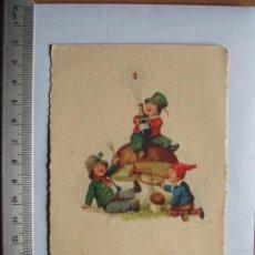 Postales: POSTA DE FELICITACION , 1934. Lote 55880984