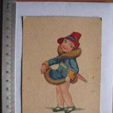 Postales: POSTA DE FELICITACION , 1942. Lote 55881036