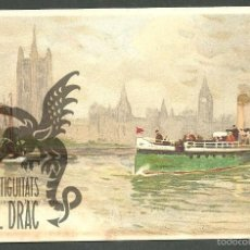 Postales: TARJETA POSTAL FIRMADA POR HENRI CASSIERS LITOGRAFIADA DE O. DASD Y MENDEL, BRUXELLES 1900. Lote 56237736