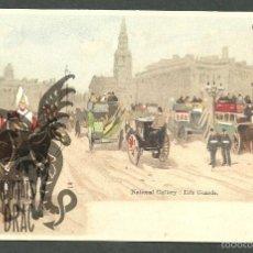 Postales: TARJETA POSTAL FIRMADA POR HENRI CASSIERS LITOGRAFIADA DE O. DASD Y MENDEL, BRUXELLES 1900 . Lote 56251619