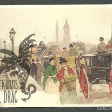 Postales: TARJETA POSTAL FIRMADA POR HENRI CASSIERS LITOGRAFIADA DE O. DASD Y MENDEL, EDIT BRUXELLES 1900 LOND. Lote 56251708