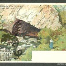 Postales: TARJETA POSTAL FIRMADA POR HENRI CASSIERS LITOGRAFIADA DE O. DASD Y MENDEL, EDIT BRUXELLES 1900 . Lote 56251809