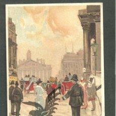 Postales: TARJETA POSTAL FIRMADA POR HENRI CASSIERS LITOGRAFIADA DE O. DASD Y MENDEL, EDIT BRUXELLES 1900 . Lote 56251875
