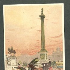 Postales: TARJETA POSTAL FIRMADA POR HENRI CASSIERS LITOGRAFIADA DE O. DASD Y MENDEL, EDIT BRUXELLES 1900 . Lote 56251990