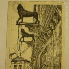 Postales: POSTAL DIBUJADA A PLUMILLA POR L. ROSSO. CIRCULADA 1948.. Lote 57926852
