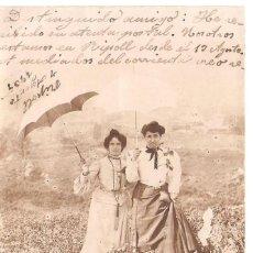 Postales: POSTAL ENVIADA DESDE ESPAÑA 1905 2/022. Lote 58423297