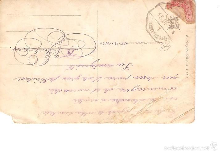 Postales: postal salon 1914 enviada desde españa 1912 2/076 - Foto 2 - 58424826