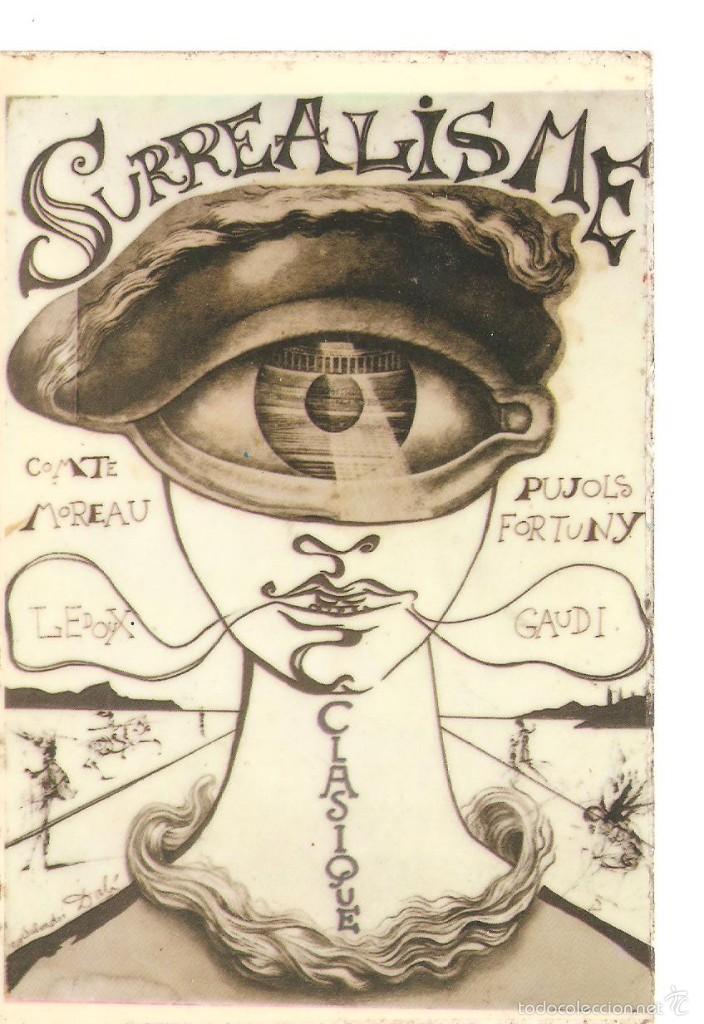 POSTAL DE DALI 2/080 (Postales - Postales Temáticas - Dibujos originales y Grabados)