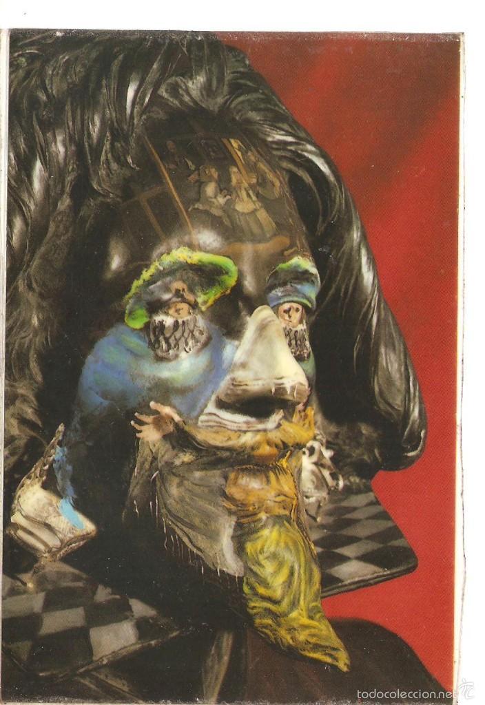 POSTAL DE DALI CABEZA DE VELAZQUEZ 2/082 (Postales - Postales Temáticas - Dibujos originales y Grabados)
