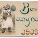 Postales: POSTAL ORIGINAL 1903, GASTRONOMÍA, COCINA, GIRONA. Lote 58653090