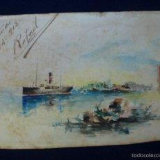 Postcards - POSTAL. PINTADA A MANO. 1902 - 60868655