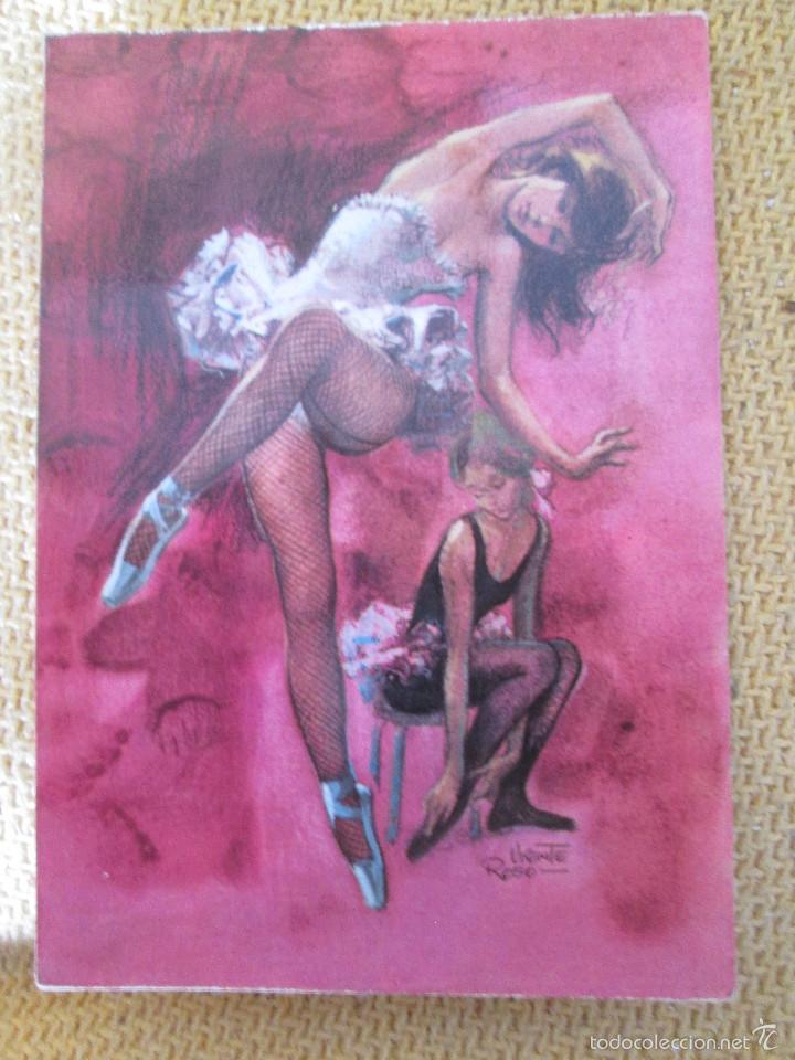ILUSTRACION VICENTE ROSSO - 1971 (Postales - Postales Temáticas - Dibujos originales y Grabados)