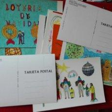 Postcards - 12 postales Lotería Nacional año 1971 - 62356347