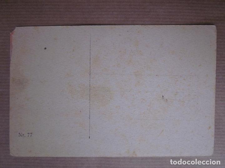 Postales: BONITA POSTAL PINTADA A MANO. PAISAJE - Foto 3 - 64667167