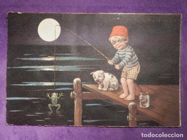 POSTAL - DIBUJOS - 1902 - 3 (Postales - Postales Temáticas - Dibujos originales y Grabados)