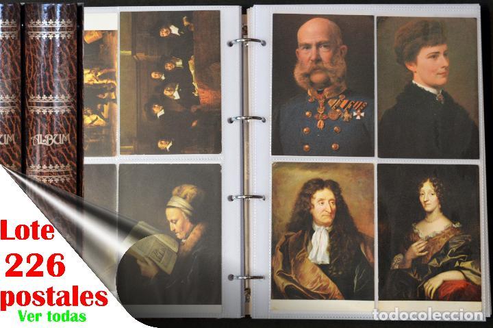 GRAN COLECCIÓN 226 POSTALES PINTURA Y DIBUJO ARTE EN ÁLBUM CON HOJAS VER TODAS EN FOTOGRAFIAS (Postales - Postales Temáticas - Dibujos originales y Grabados)