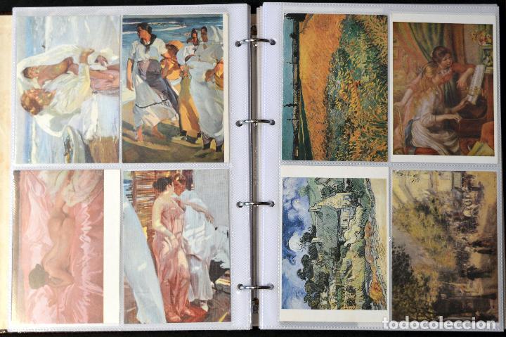 Postales: GRAN COLECCIÓN 226 POSTALES PINTURA Y DIBUJO ARTE EN ÁLBUM CON HOJAS VER TODAS EN FOTOGRAFIAS - Foto 3 - 67180185
