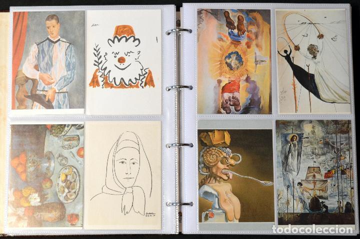 Postales: GRAN COLECCIÓN 226 POSTALES PINTURA Y DIBUJO ARTE EN ÁLBUM CON HOJAS VER TODAS EN FOTOGRAFIAS - Foto 7 - 67180185