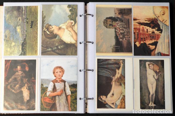 Postales: GRAN COLECCIÓN 226 POSTALES PINTURA Y DIBUJO ARTE EN ÁLBUM CON HOJAS VER TODAS EN FOTOGRAFIAS - Foto 14 - 67180185