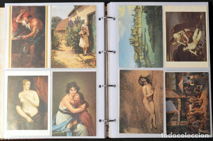 Postales: GRAN COLECCIÓN 226 POSTALES PINTURA Y DIBUJO ARTE EN ÁLBUM CON HOJAS VER TODAS EN FOTOGRAFIAS - Foto 15 - 67180185