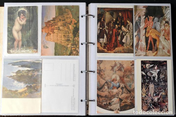 Postales: GRAN COLECCIÓN 226 POSTALES PINTURA Y DIBUJO ARTE EN ÁLBUM CON HOJAS VER TODAS EN FOTOGRAFIAS - Foto 17 - 67180185