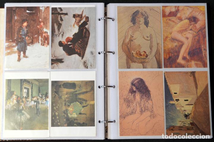 Postales: GRAN COLECCIÓN 226 POSTALES PINTURA Y DIBUJO ARTE EN ÁLBUM CON HOJAS VER TODAS EN FOTOGRAFIAS - Foto 18 - 67180185
