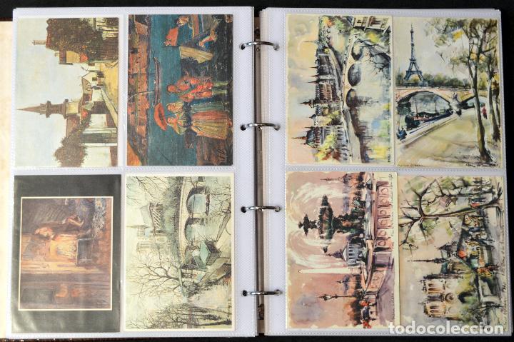 Postales: GRAN COLECCIÓN 226 POSTALES PINTURA Y DIBUJO ARTE EN ÁLBUM CON HOJAS VER TODAS EN FOTOGRAFIAS - Foto 19 - 67180185