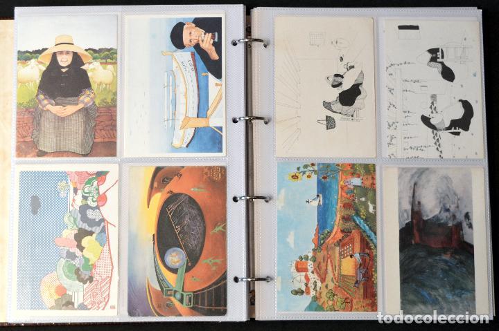 Postales: GRAN COLECCIÓN 226 POSTALES PINTURA Y DIBUJO ARTE EN ÁLBUM CON HOJAS VER TODAS EN FOTOGRAFIAS - Foto 21 - 67180185