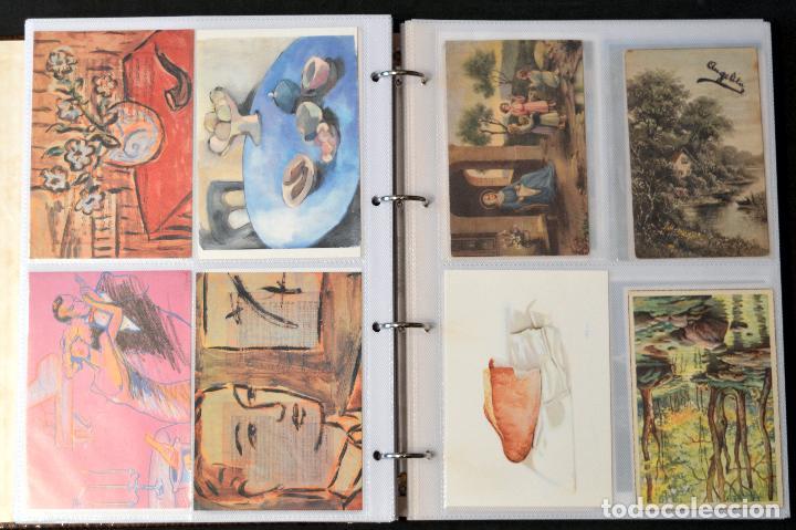 Postales: GRAN COLECCIÓN 226 POSTALES PINTURA Y DIBUJO ARTE EN ÁLBUM CON HOJAS VER TODAS EN FOTOGRAFIAS - Foto 22 - 67180185