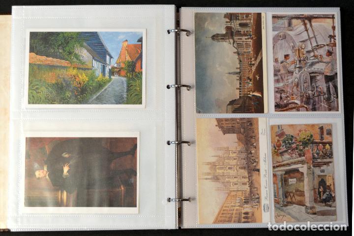 Postales: GRAN COLECCIÓN 226 POSTALES PINTURA Y DIBUJO ARTE EN ÁLBUM CON HOJAS VER TODAS EN FOTOGRAFIAS - Foto 26 - 67180185