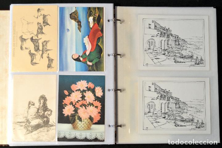 Postales: GRAN COLECCIÓN 226 POSTALES PINTURA Y DIBUJO ARTE EN ÁLBUM CON HOJAS VER TODAS EN FOTOGRAFIAS - Foto 28 - 67180185
