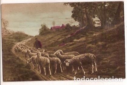 ANTIGUA POSTAL JOYAS DE ESPAÑA EDICION ALMIRALL (Postales - Postales Temáticas - Dibujos originales y Grabados)
