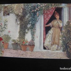 Postales: PINTURA DE C.VAZQUEZ- EN EL CABAÑAL. 1920.. Lote 71473091