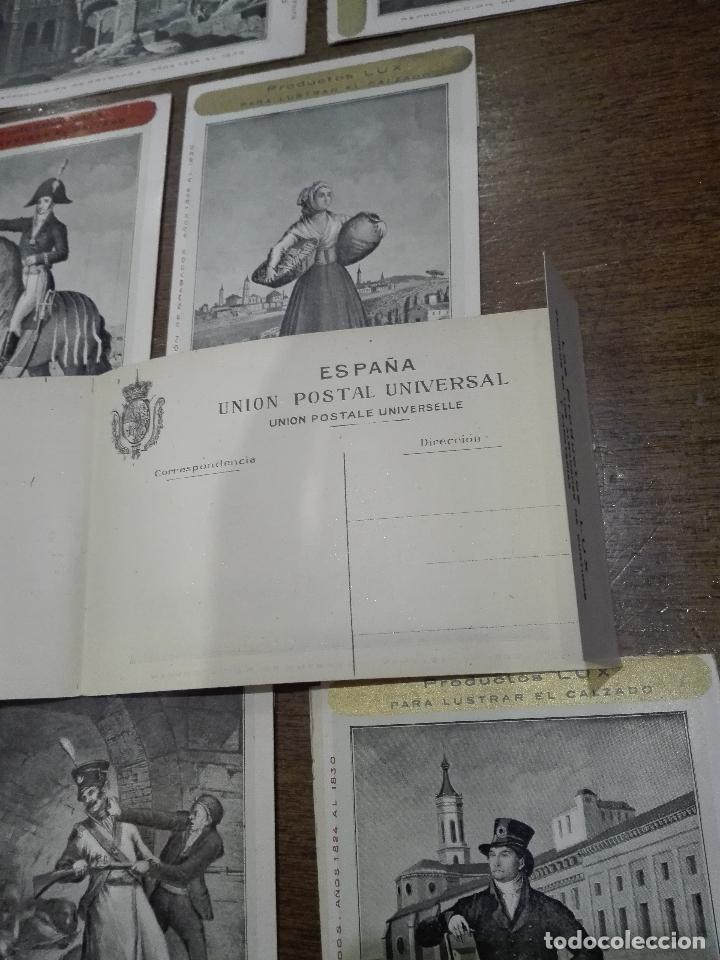 Postales: BONITA COLECCIÓN DE 7 POSTALES CON REPRODUCCIÓN DE GRABADOS DE LOS AÑOS 1824 AL 1830 - - Foto 7 - 73532655