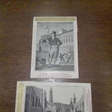 Postales: BONITA COLECCIÓN DE 2 POSTALES CON REPRODUCCIÓN DE GRABADOS DE LOS AÑOS 1824 AL 1830 - . Lote 73533595