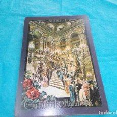 Postales: POSTAL CARTON ,MIDE 21X15 ,DIBUJO CARLOS CUSSETTI ,PARIS THEATRE DE L' OPERA. Lote 79565197