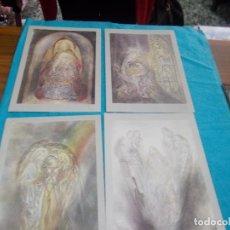 Postales: LOTE 4 POSTALES TIPO LIBRO ,EDITADAS EN HOLLAND. Lote 79594645